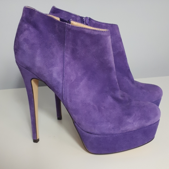 Sirens Ankle Booties Purple